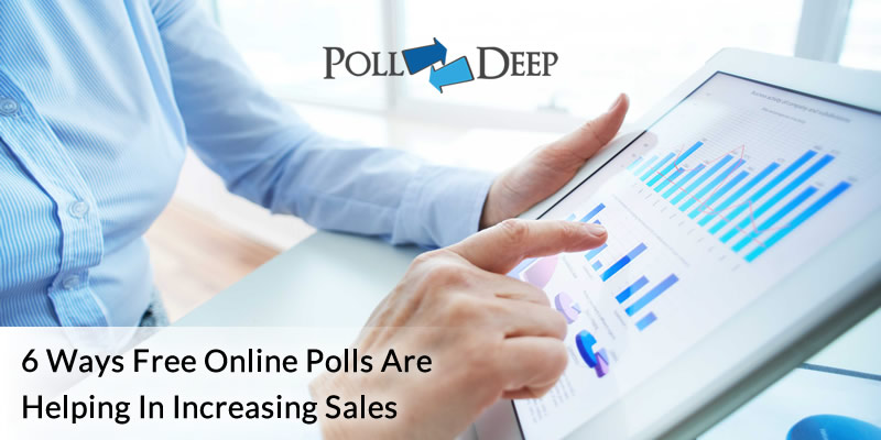 6 ways free online polls are helping in increasing sales