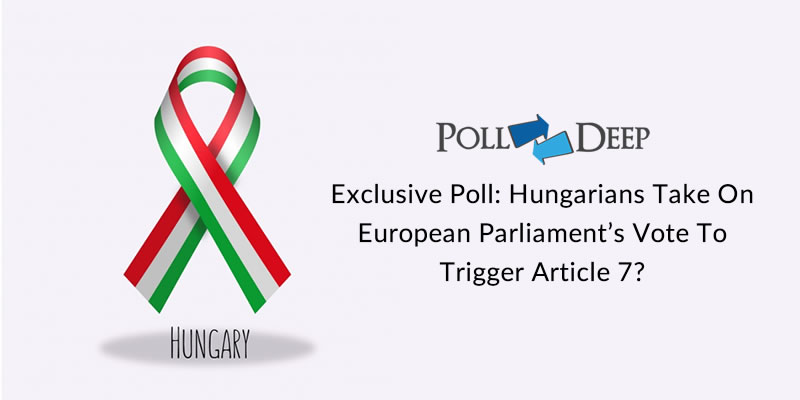Exclusive poll Hungarians take on European Parliament's vote to trigger Article 7