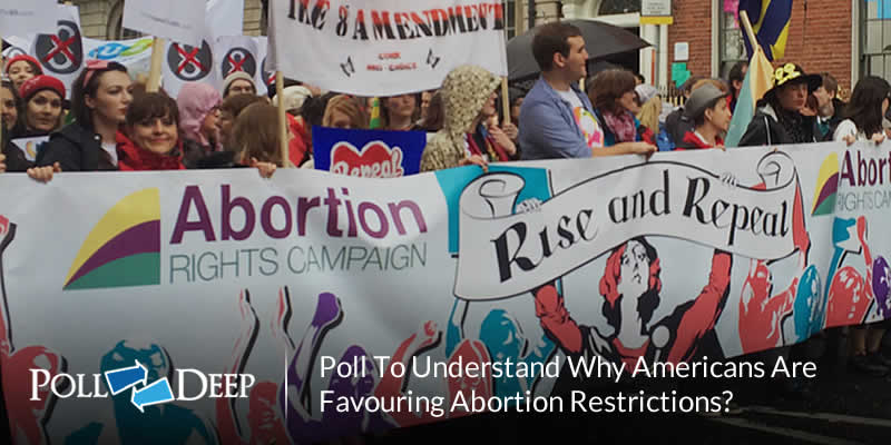 Poll to Understand Why Americans Are Favouring Abortion Restrictions
