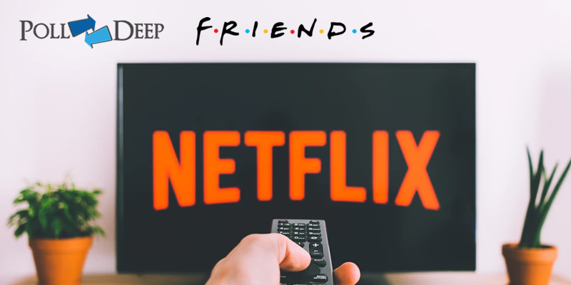 Polls says F.R.I.E.N.D.S is the Most-Watched Sitcom on Netflix, Know Why