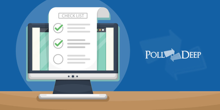 10 Points Checklist To Create A Perfect Online Poll